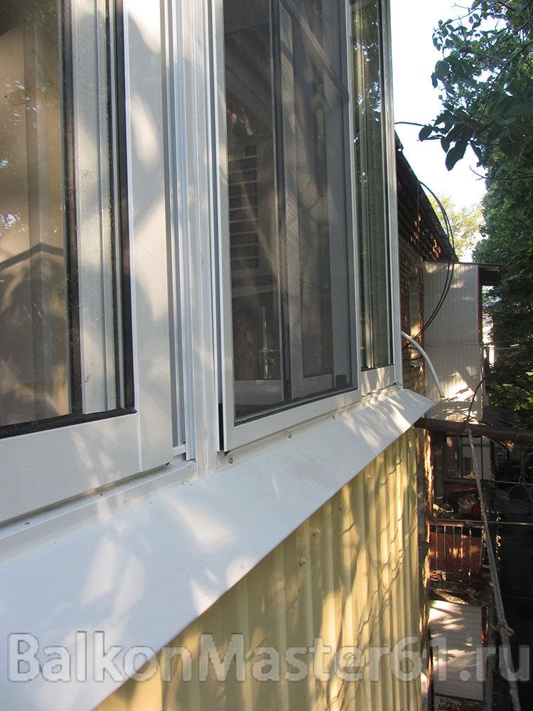 Остекление балконов и лоджий по доступным ценам в ростовской.